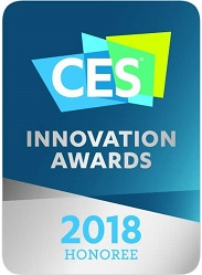 Cubit wins Innovation award honoree in Smart Home & AR/VR @ CES 2018